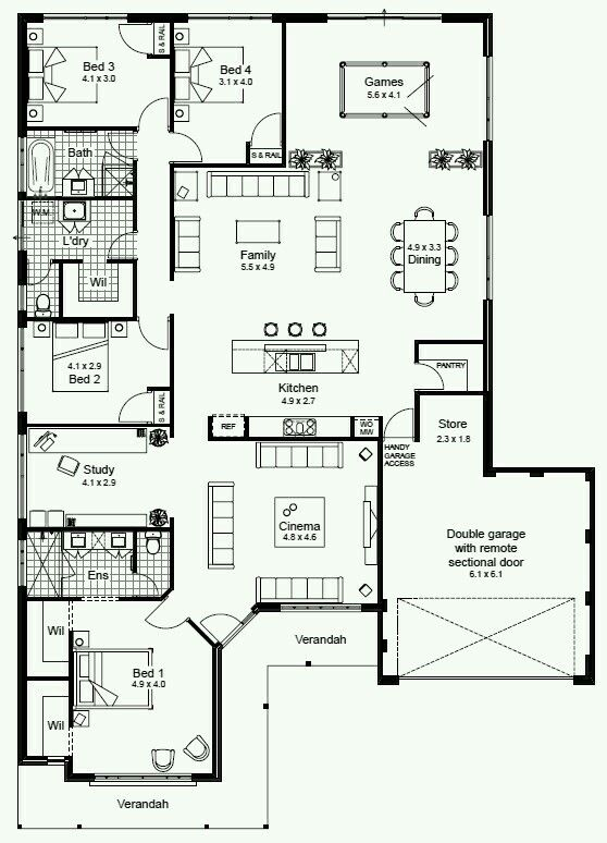 Perfect House House Plans Australia Australian House Plans