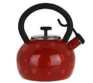 Prepology 2 Quart Polka Dot Whistling Tea Kettle Cost Tea Kettle Whistling Tea Kettle Kettle
