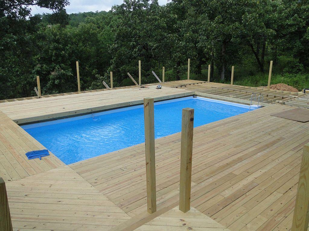 Deck Around Intex Pool Google Search Best Above Ground Pool