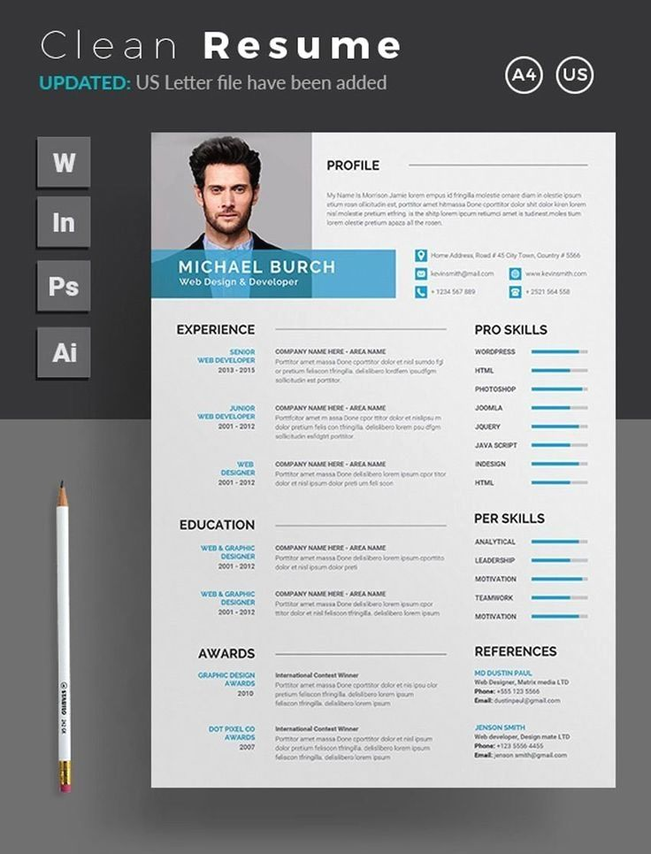 Simple Resume Template Free Download in 2020 Basic