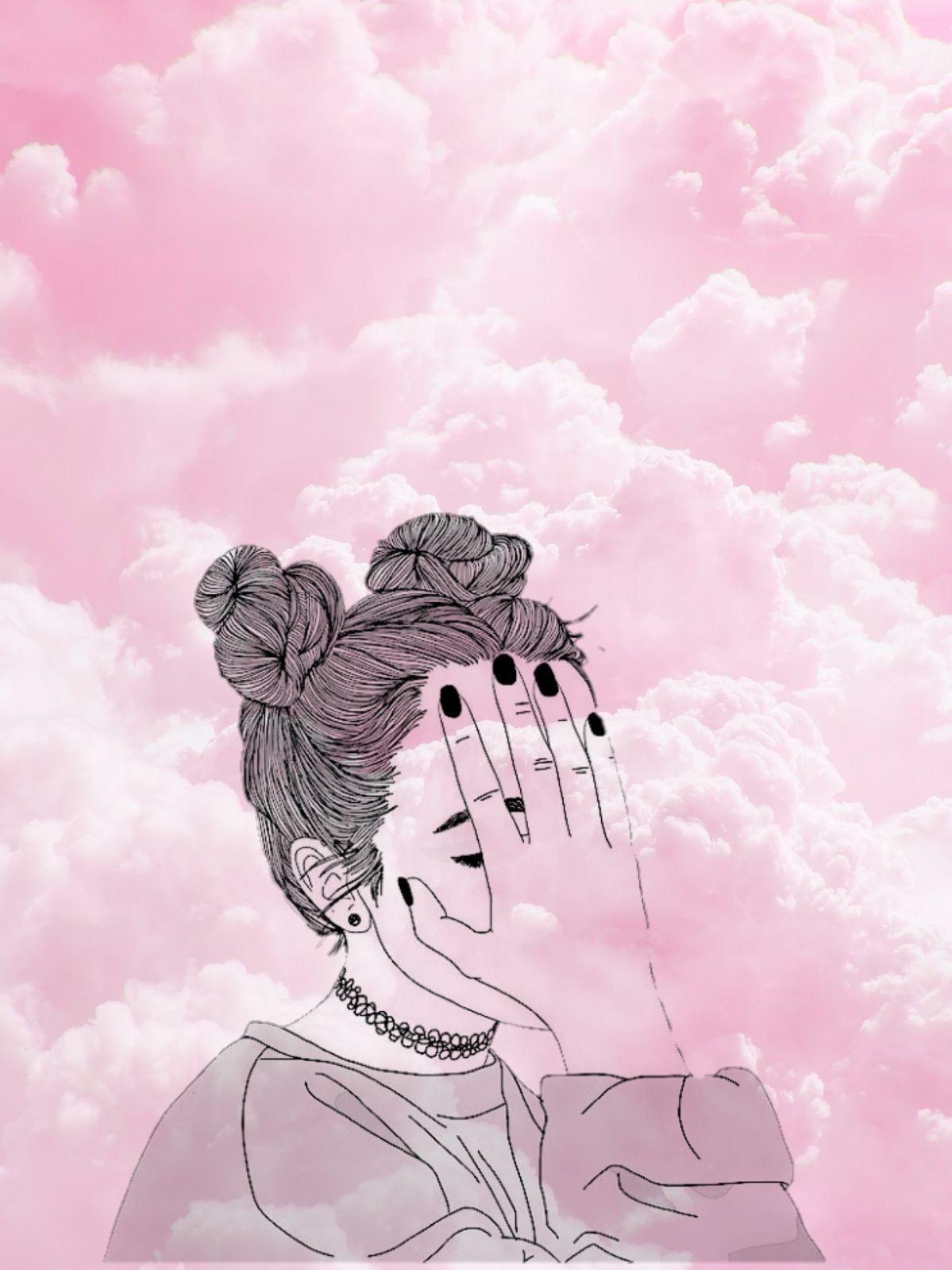 Pin De Flowers In Heart Em Girls Em 2019 Desenhos De