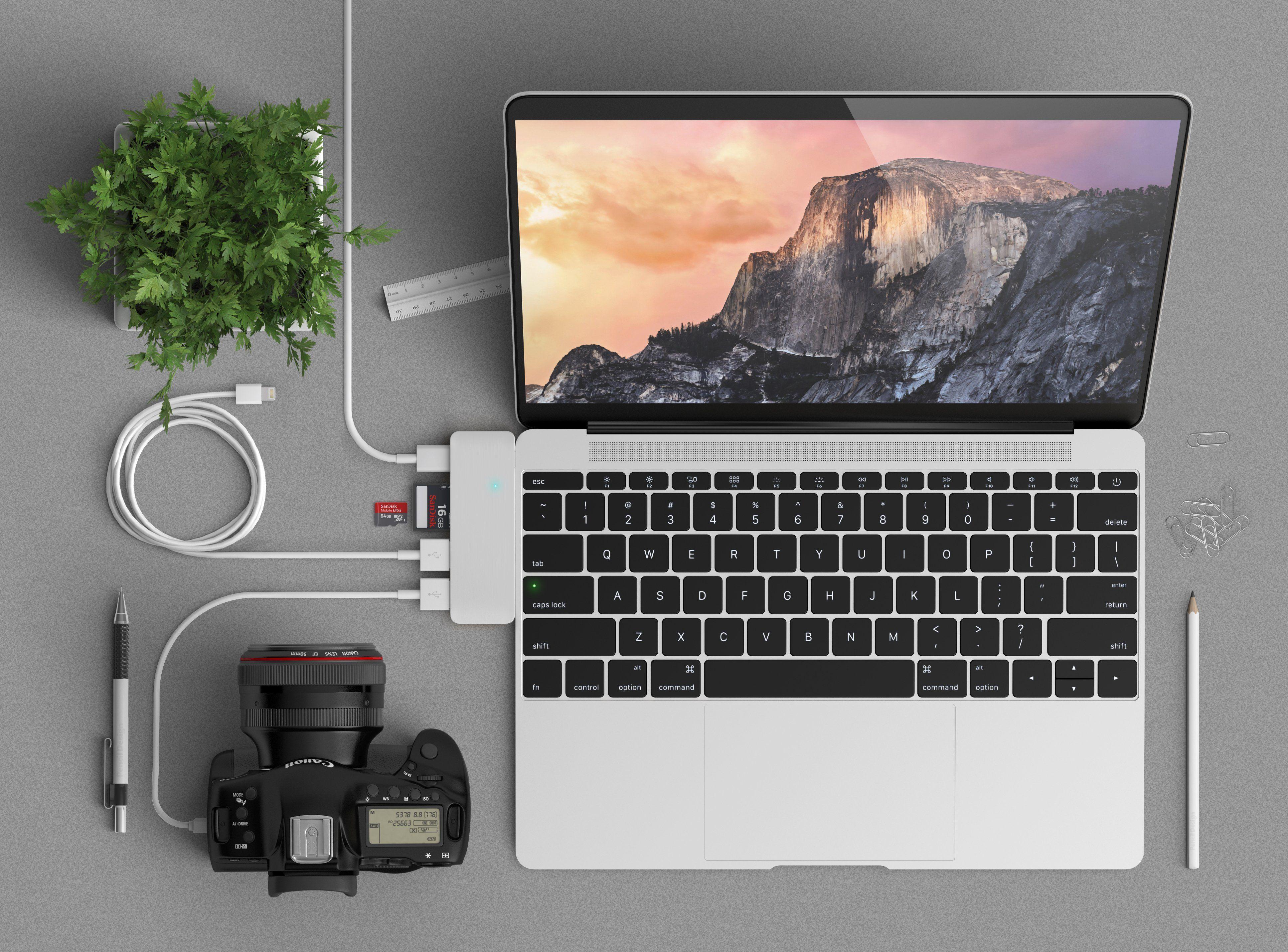 Type C Pass Through Usb Hub Usb Hub Usb Macbook Pro