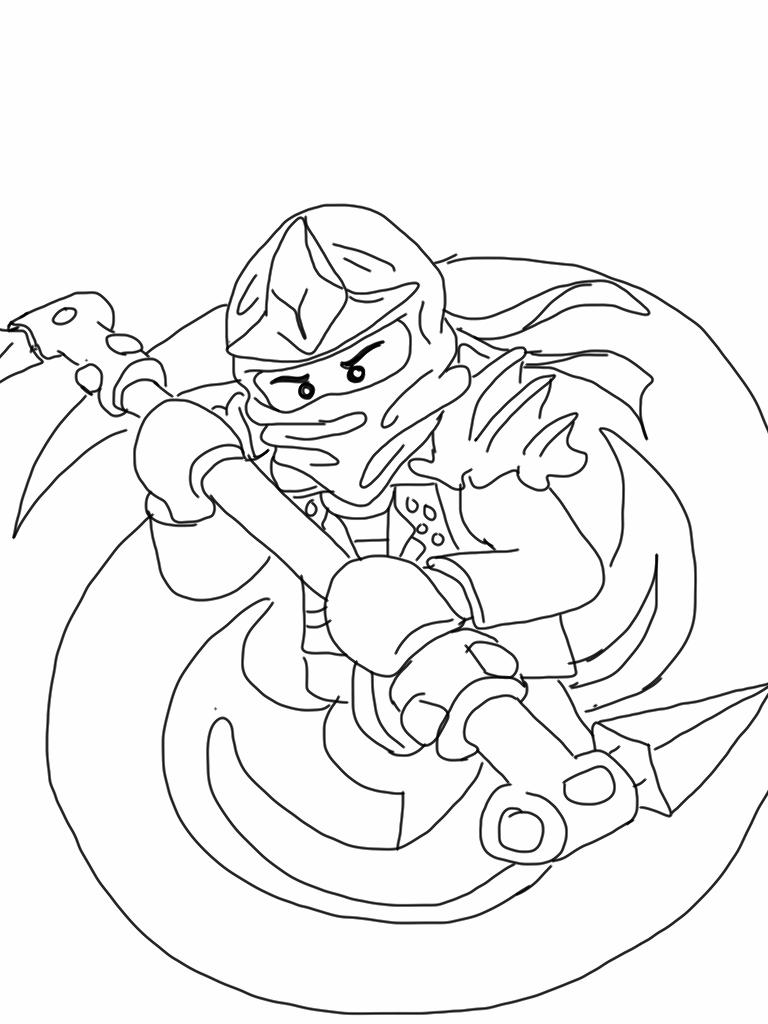 Free coloring pages lego ninjago - Ausmalbild Ninjago 09