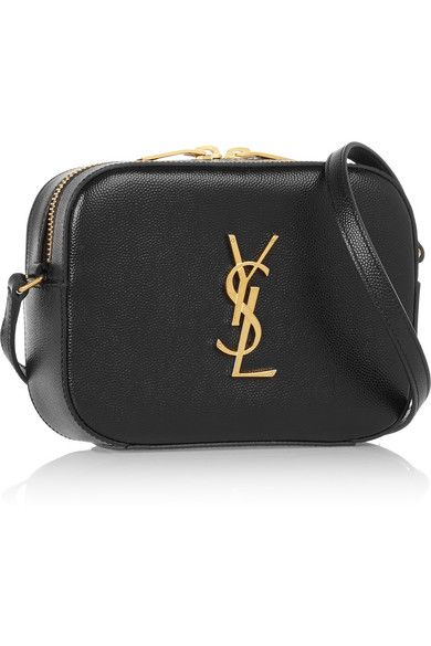 0af59c7123b5 Saint Laurent | Monogramme textured-leather camera bag | NET-A-PORTER.COM