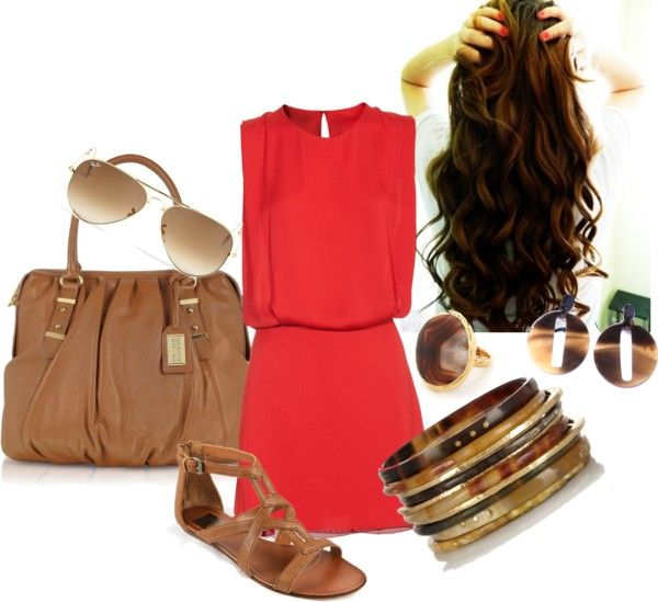 """Sunny day"" by leily-mejia on Polyvore"