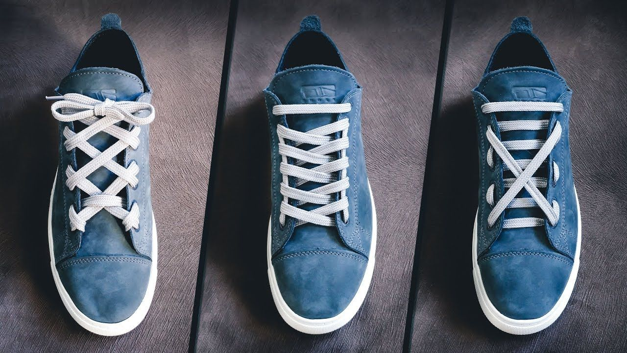 5 Cool Shoe Lace styles Shoe lacing tutorials YouTube