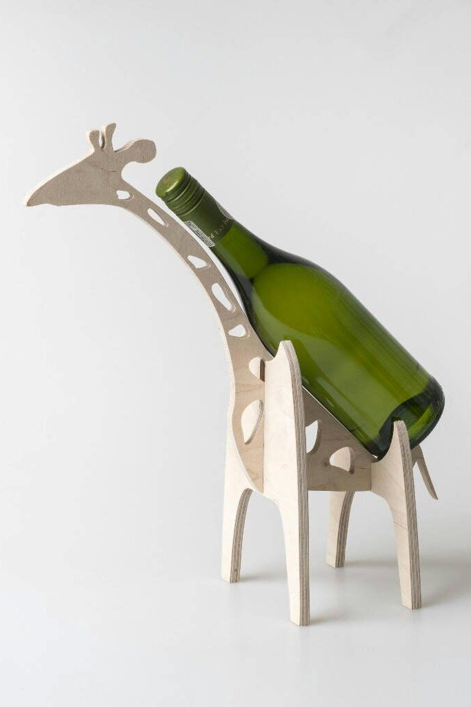 A truly universal gift because hey, who doesn\'t like a wine holder ...
