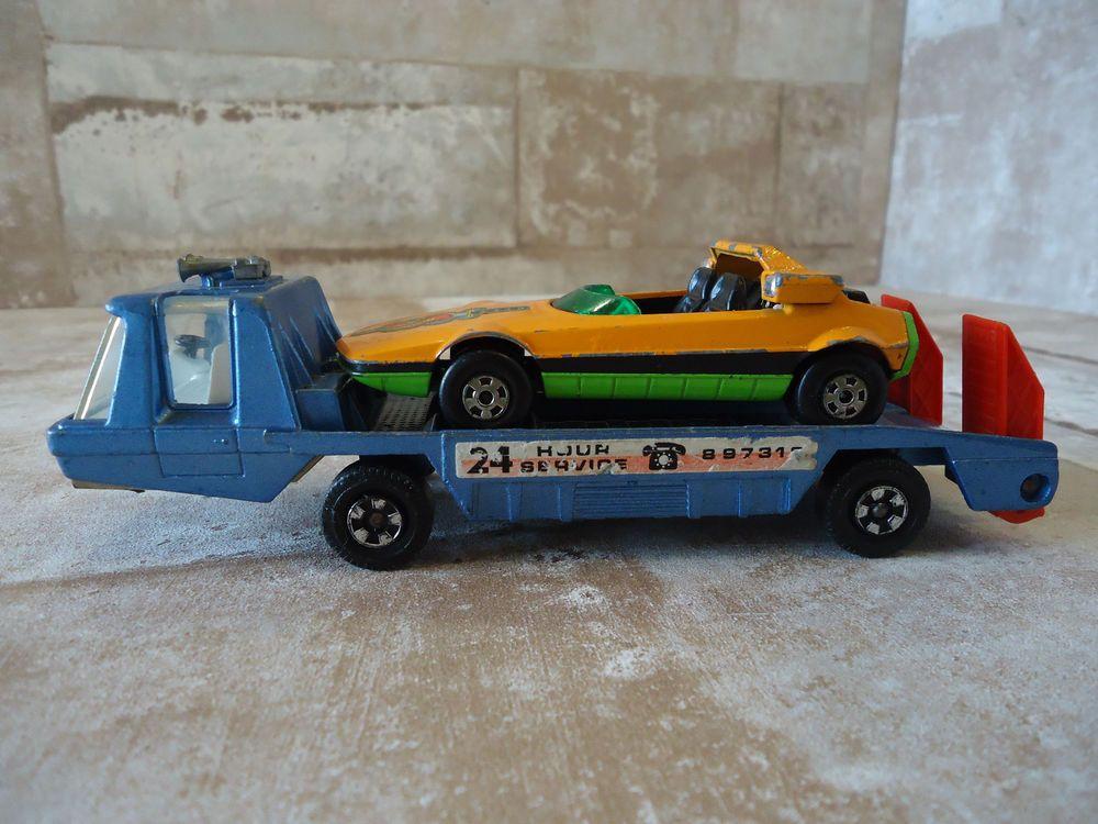 vintage 1975 matchbox super kings transporter 24hrs