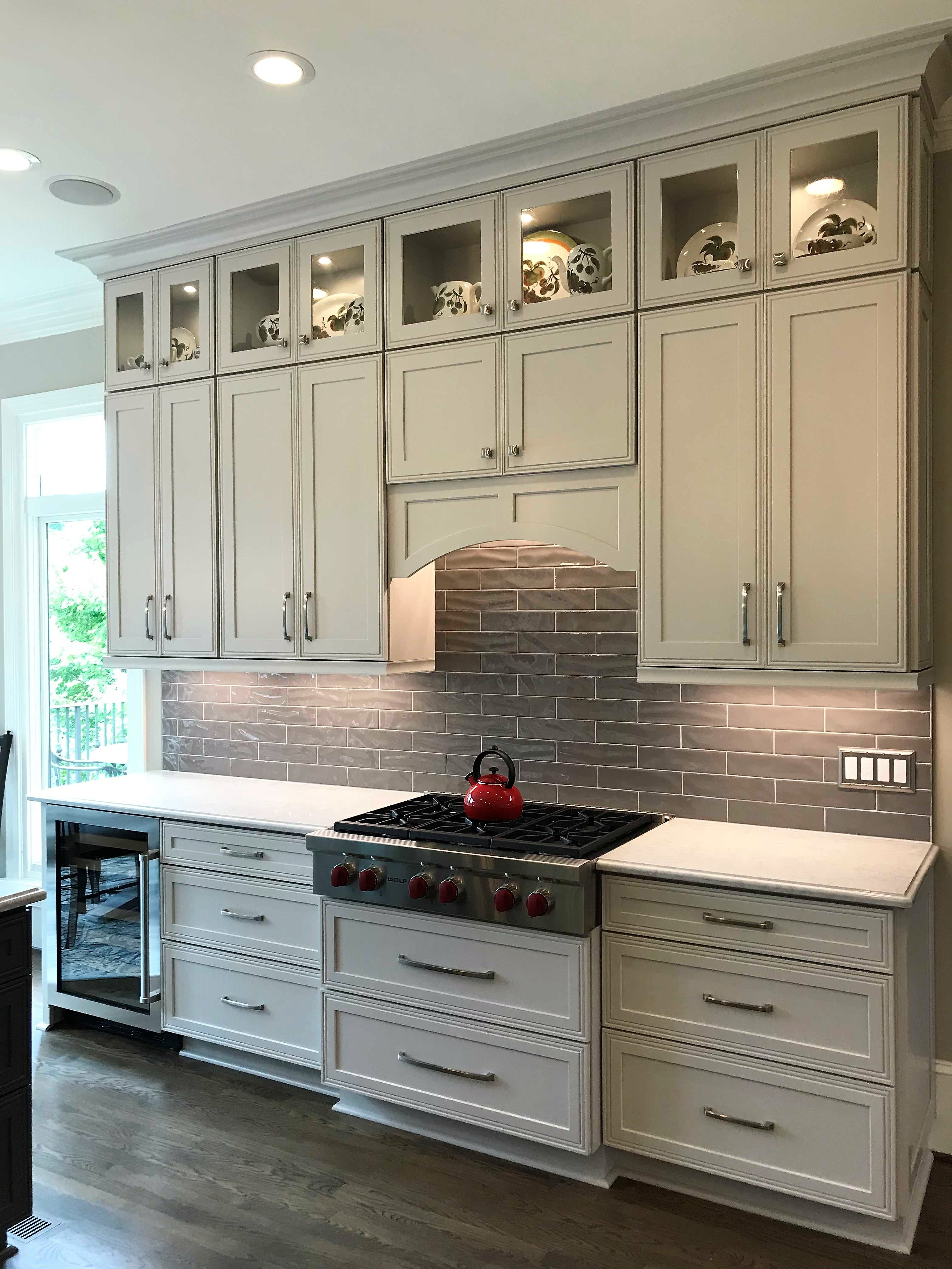Sherwin Wiliams Agreeable Gray and Peppercorn Painted