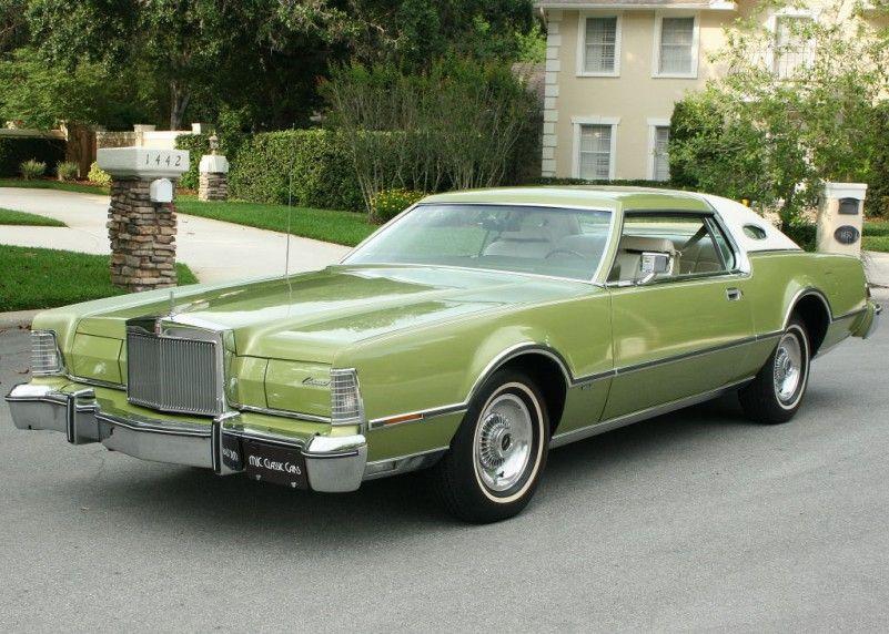 1975 Lincoln Mark Iv Mjc Classic Cars Pristine Classic Cars