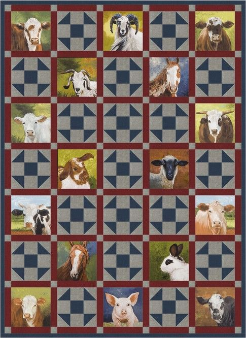 Hoedown designed by Robert Kaufman Fabrics  Features Down on