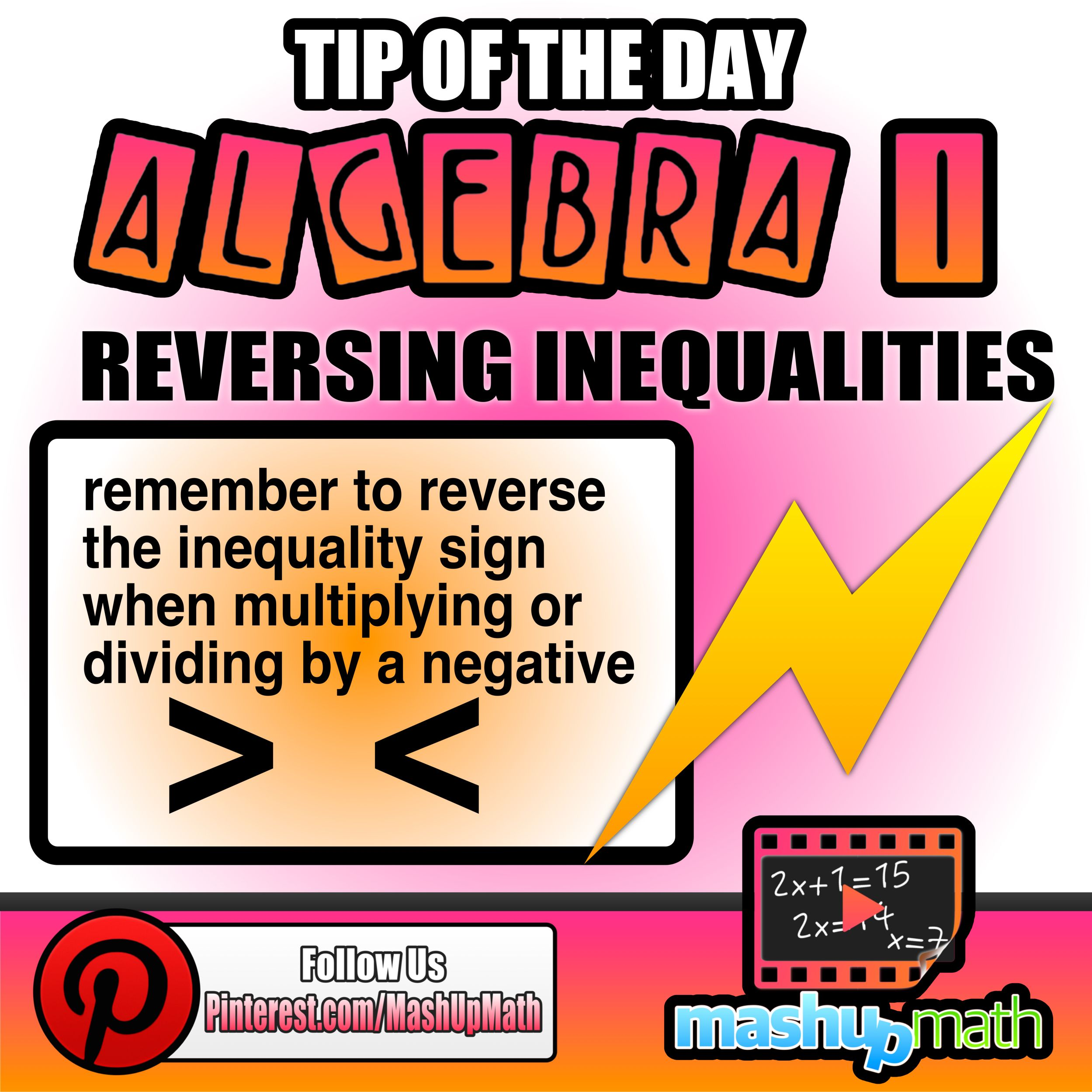 Our Latest Algebra I Teacher And Student Tip Is On