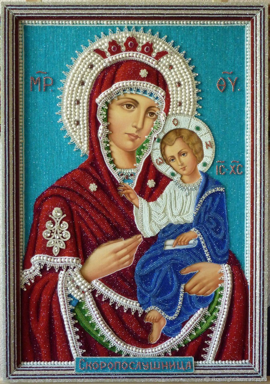 Купить Икона Богородичная Скоропослушница в интернет ...