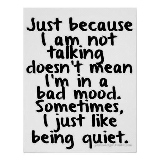 Just Because I am not talking Poster   Zazzle.com