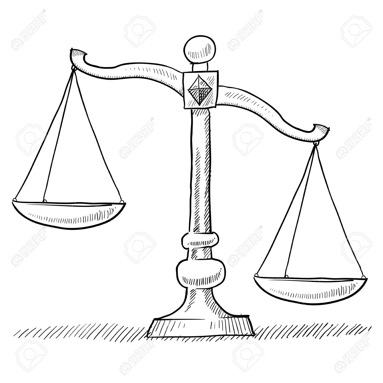 Image Result For Justice Scale Drawing