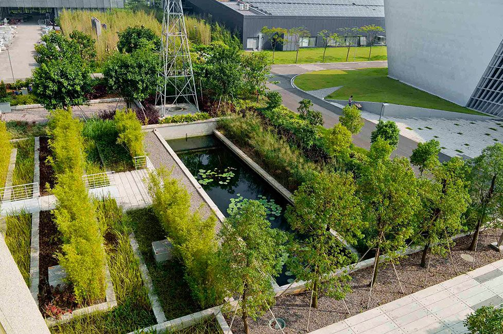 Contemporary Landscape Architecture Projects vanke_architecture_research_center-by-zt_studio-02 « landscape