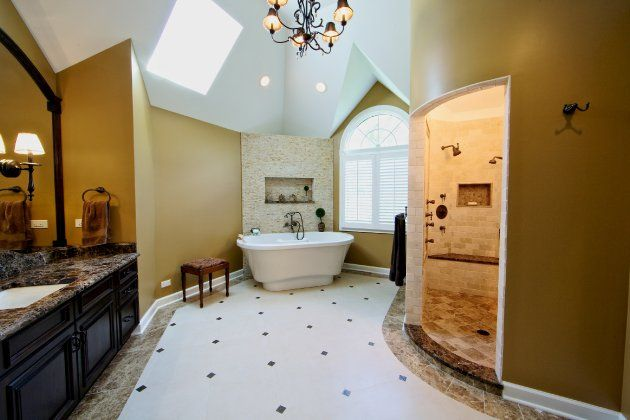 Roman Shower Stalls For Your Master Bathroom Decorating ideas