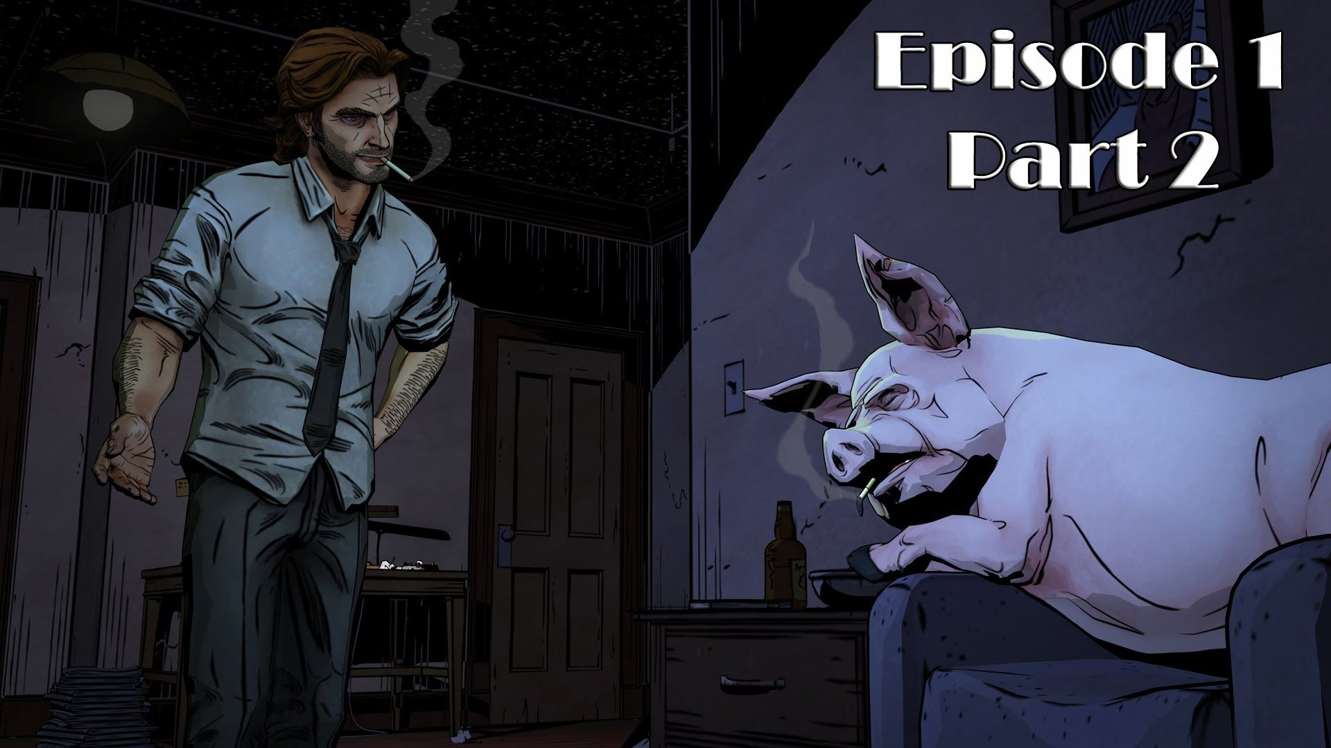Wolf Among Us Episode 1 Part 2 Finding A Head The Wolf Among Us Wolf Tales From The Borderlands