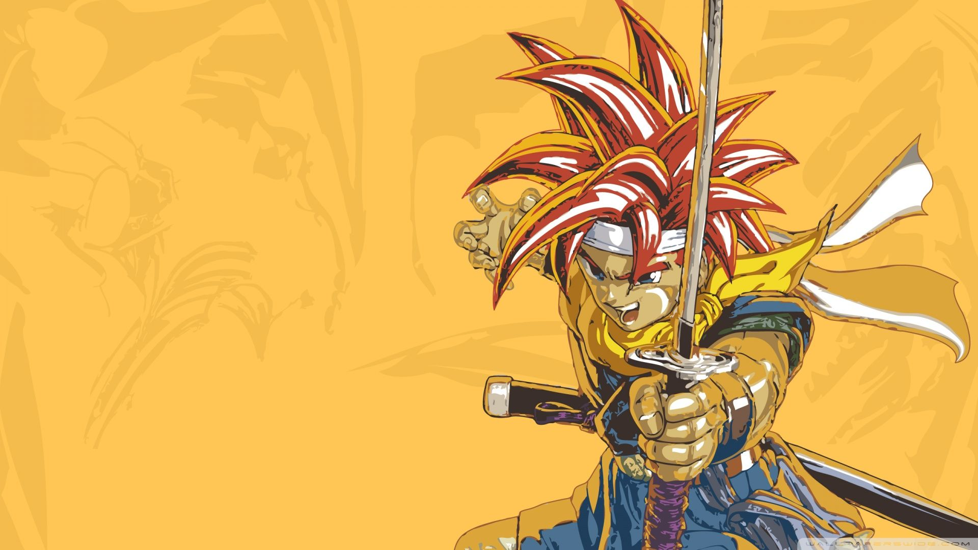 Crono Art Approved Wallpaper Chrono Trigger Chrono Background Pictures