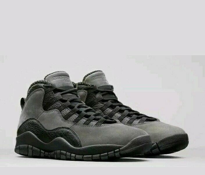 super popular 8f341 3bf94 Nike Air Jordan Retro 10 X Dark Shadow True Red Black Shoes NIB 310805-002