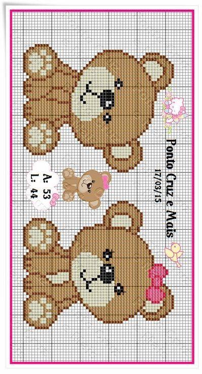 Pin von Natali auf C2C | Pinterest | Kreuzstich Baby, Stickvorlagen ...