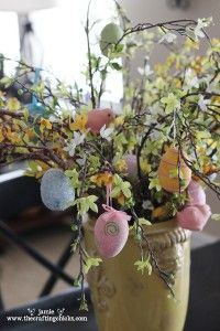 pretty Easter tree