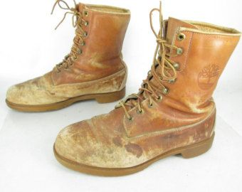 Ennegrecer objetivo Tan rápido como un flash  timberland on Etsy, a global handmade and vintage marketplace. | Lace up  ankle boots, Timberland, Vintage men
