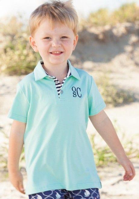 8fed8960 sky polo knit preppy collared shirt boy serendipity | Boys cloths ...