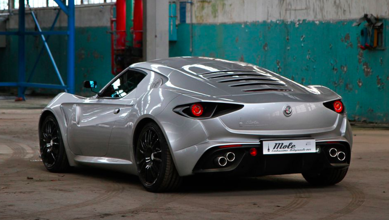 Alfa Romeo 4c >> The Car Gods Have Graced This One Off Custom Alfa Romeo 4c
