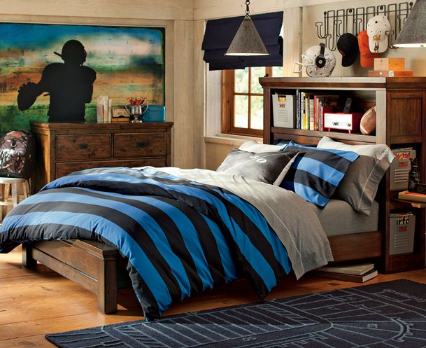 Oxford Rugby Bedroom | PBteen