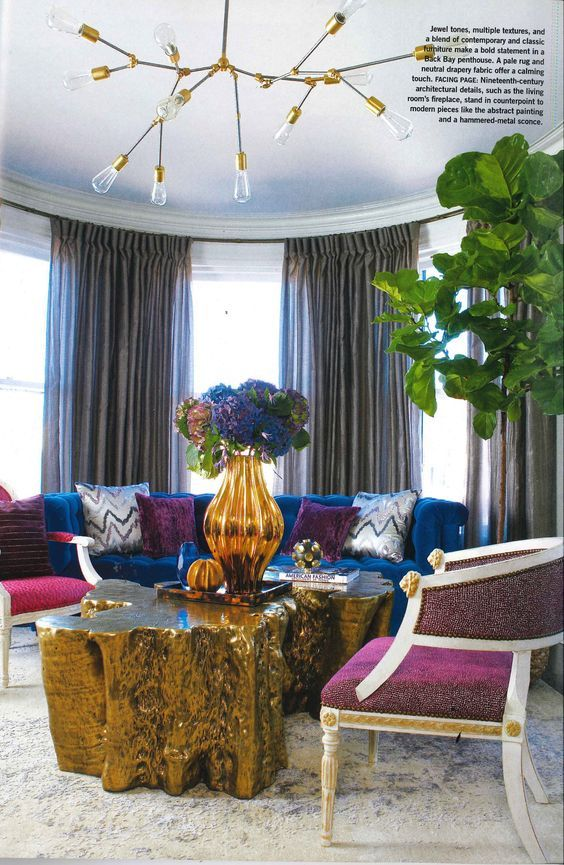 A Technically Perfect Living Room Design, And The Modern Master Jonathan  Adler
