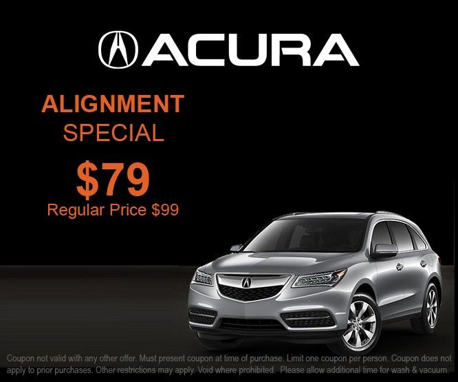 Alignment Special At Crown Acura Of Richmond