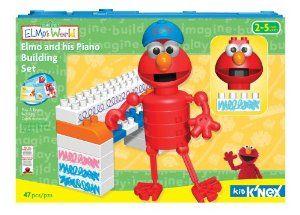 Sesame Street Elmo S World Elmo His Piano Building Set By
