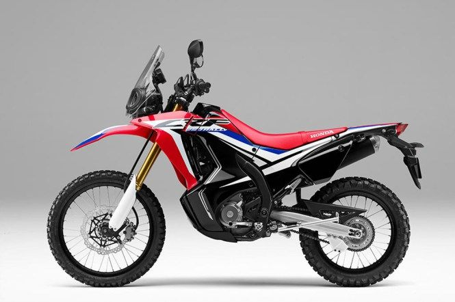 Eicma 2016 Enduro Honda Crf250l Rally 2017 สปอร ตไบค