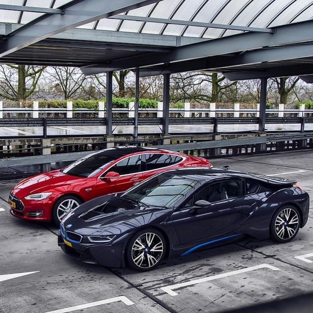 Two Of The Best Plug In Vehicles Bmw Tesla Model S The