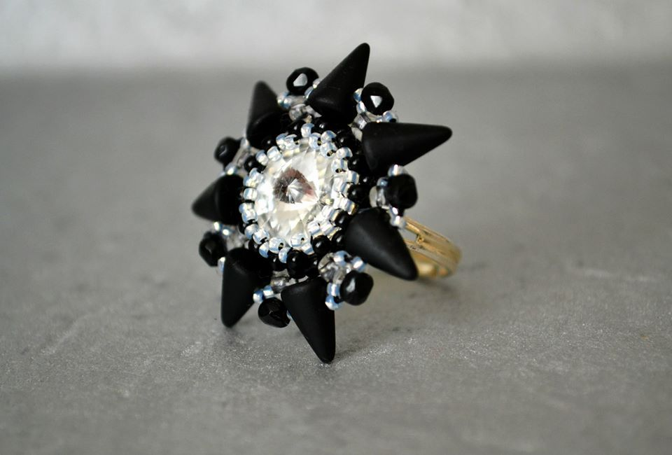 spike rivoli ring by AndreaM