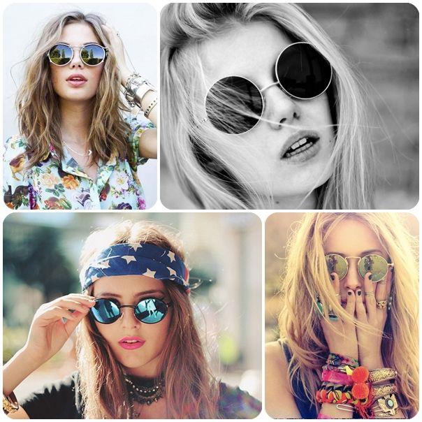 9cbd02309cf1a Acessórios Verão 2014 - Óculos redondos trazem charme e estilo para a  estação - Fashion Bubbles - Moda e o Novo na Cultura