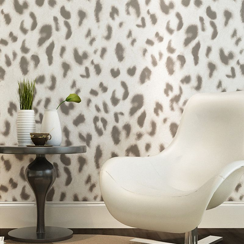 Wallpaper Quality Red Directly From China Leopard Umbrella Suppliers Luxury Stereoscopic Brown Gray Wall Paper Vinyl