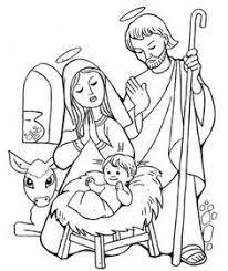 Imagenes de navidad para colorear en familia