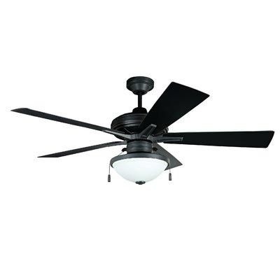 Red Barrel Studio 52 Ellport 5 Blade Outdoor Ceiling Fan Light