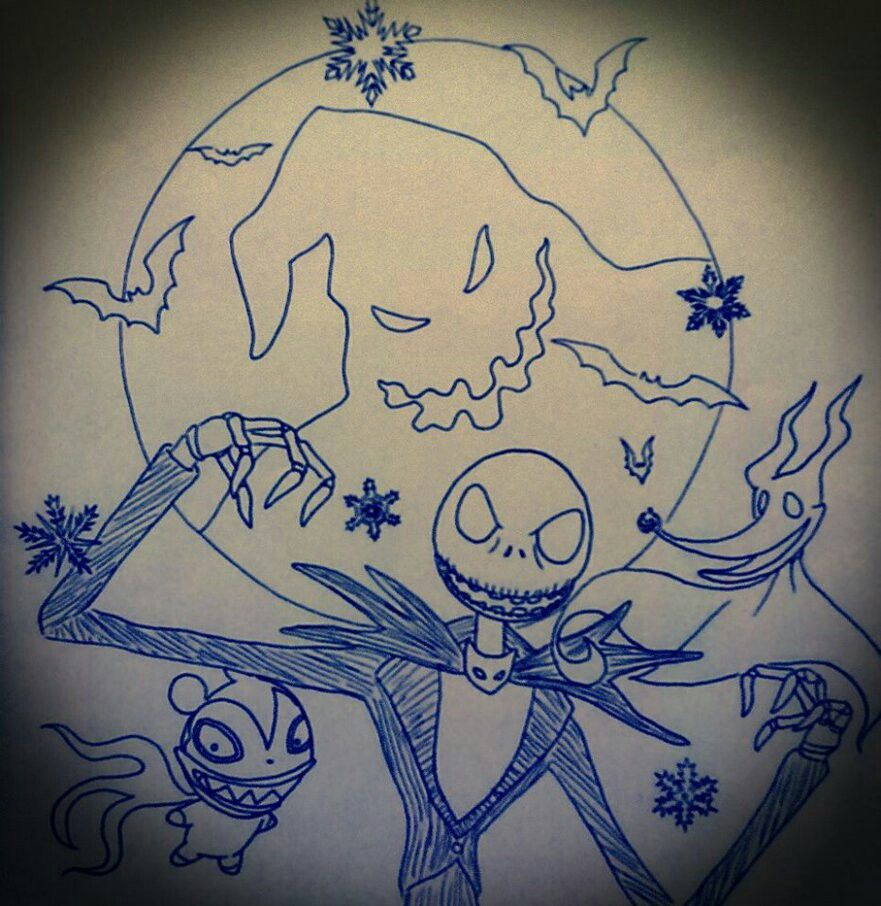 Nightmare before Christmas tattoo | Too Inkfinity and Beyond ...
