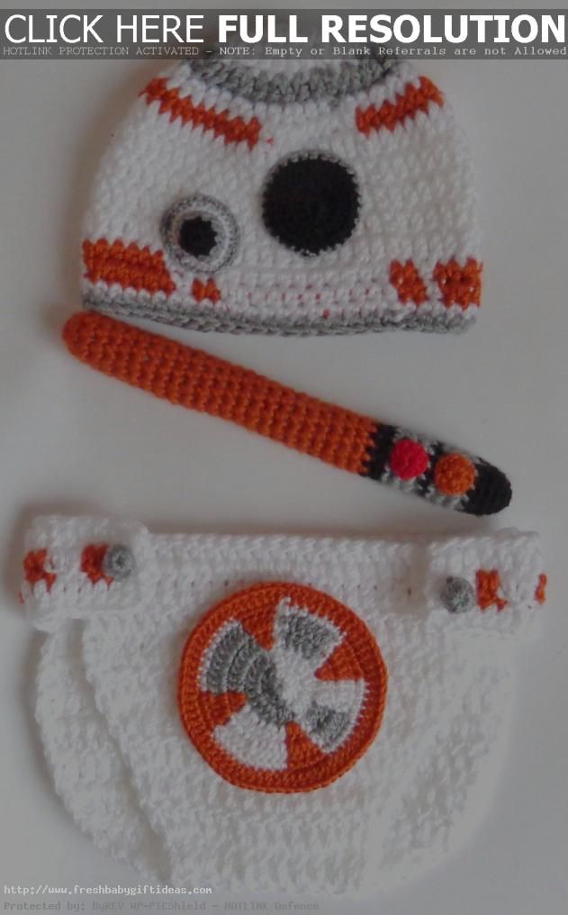 unique baby shower gifts for girls star wars bb8 droid hat and ...