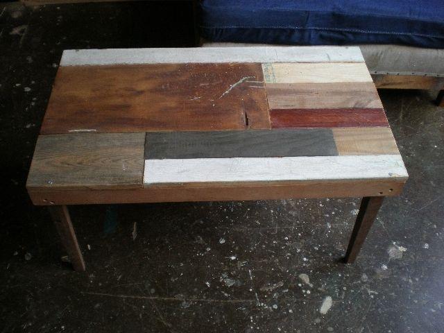 wood scraps! brill.