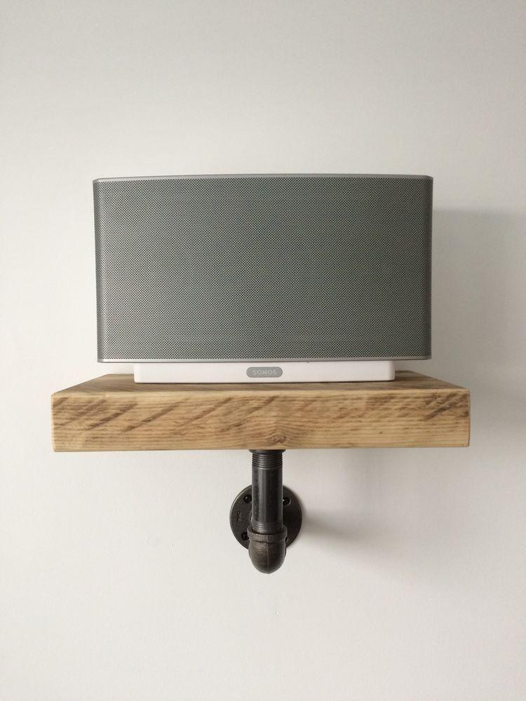 Sonos Play5 Shelf Handcrafted Industrial/modern/rustic in