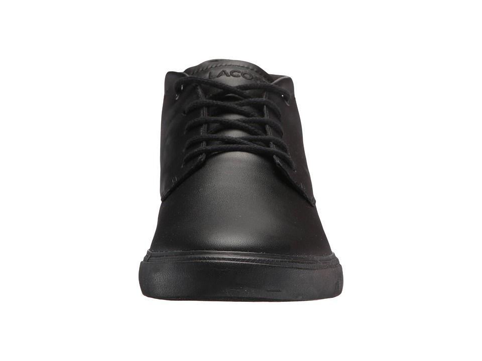 d2bbcb9b5 Lacoste Espere Chukka 317 1 Men s Shoes Black Black