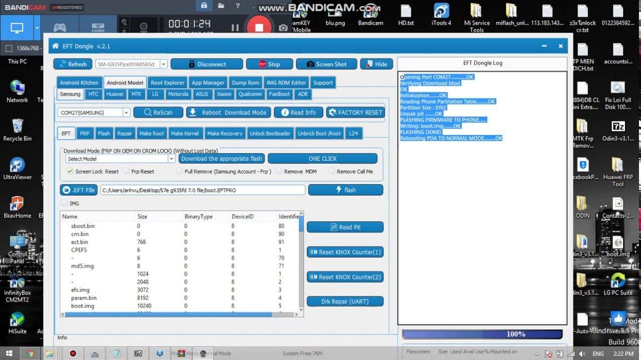 Tutorial S7e G935F Root and unlock repair network easy