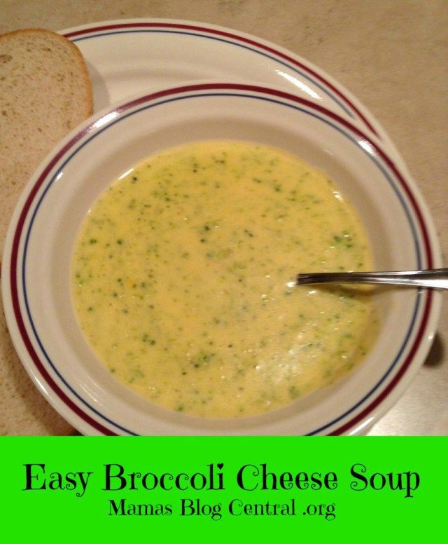 Best 25+ Easy broccoli cheese soup ideas on Pinterest