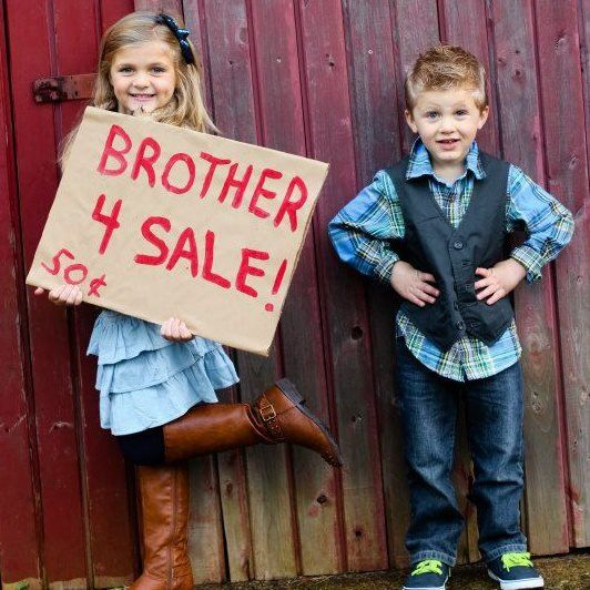 Picture Ideas Brothers: Brother For Sale Photography Idea Christmas Card