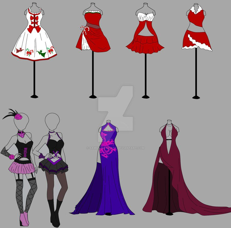 Outfit adopt 8 christmas special ota open 58 by