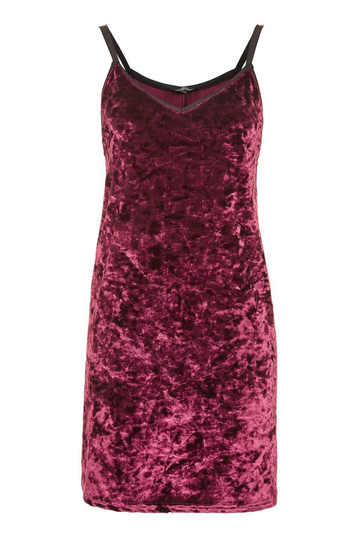 0c30369e Crushed Velvet Slip Dress | ClothesClothesClothes | Velvet slip ...